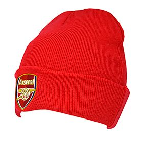 Arsenal Cuff Knitted Hat - Red