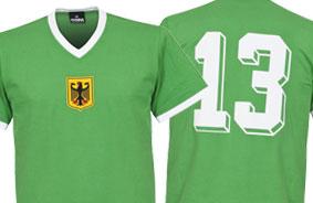 Duitsland Retro Shirts
