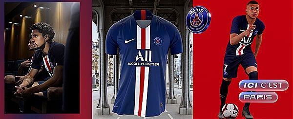 Paris Saint Germain Kit