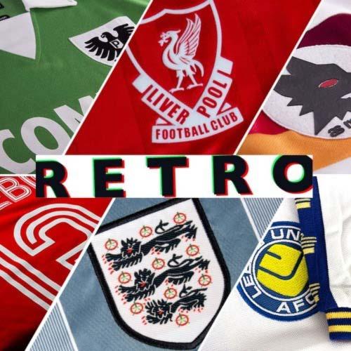 Buy Retro & Vintage Football Shirts